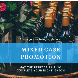 Mized case promotion to welcome you back!