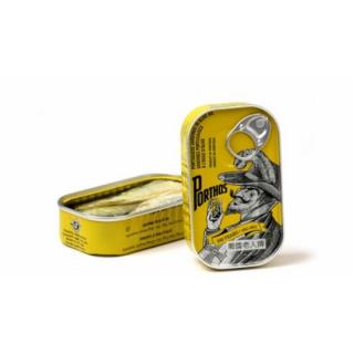 Porthos Sardine Olive Oil Canva