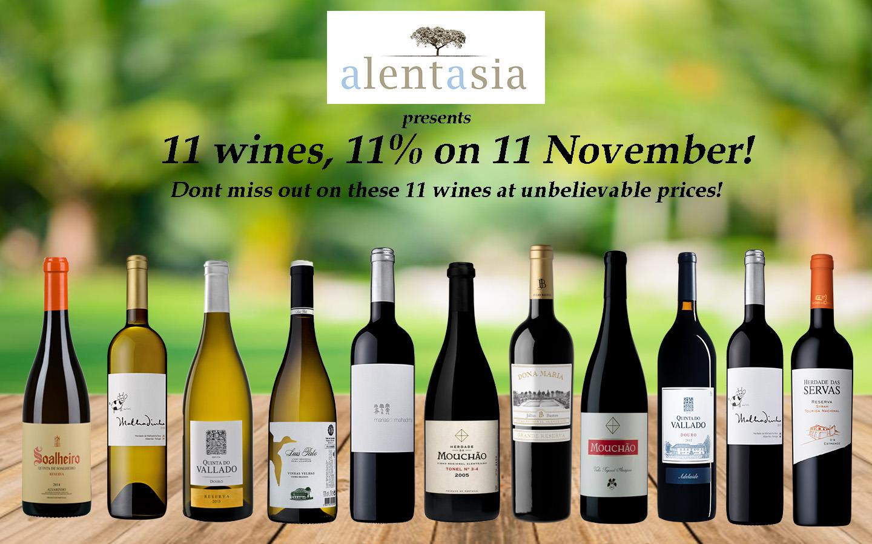 11 wines revealed