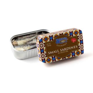 Small Sardines Olive Oil Canva