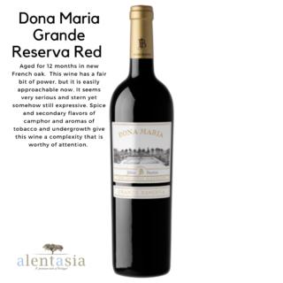 Dona Maria Grande Reserva Red 2014