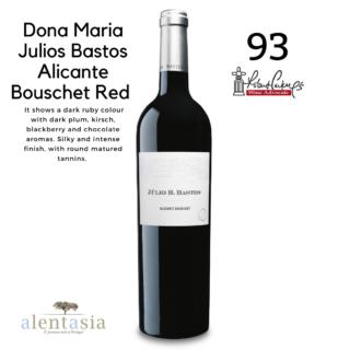 Dona Maria Julios Bastos ALocante Bouschet Red 2015